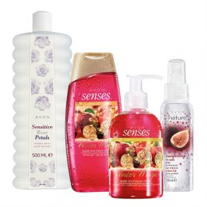 Sensitive Rose Petals, Senses Winter Magic & Hint of Nature